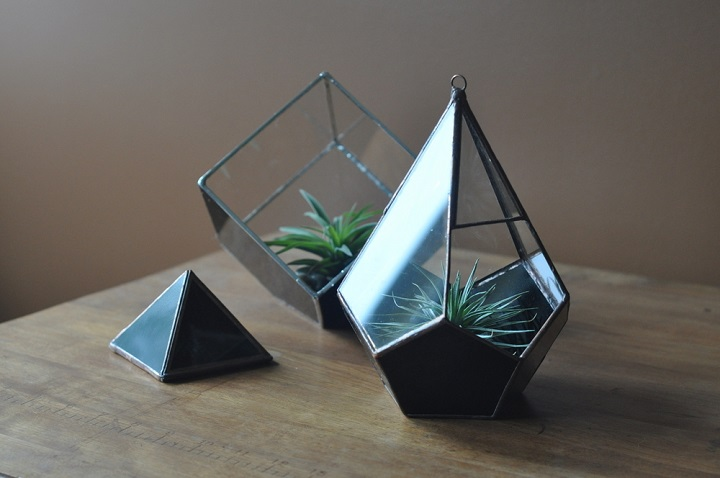 ABJ Glassworks - tear terrarium