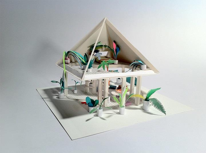 Adam Frezza & Terri Chiao - house for a forest 1