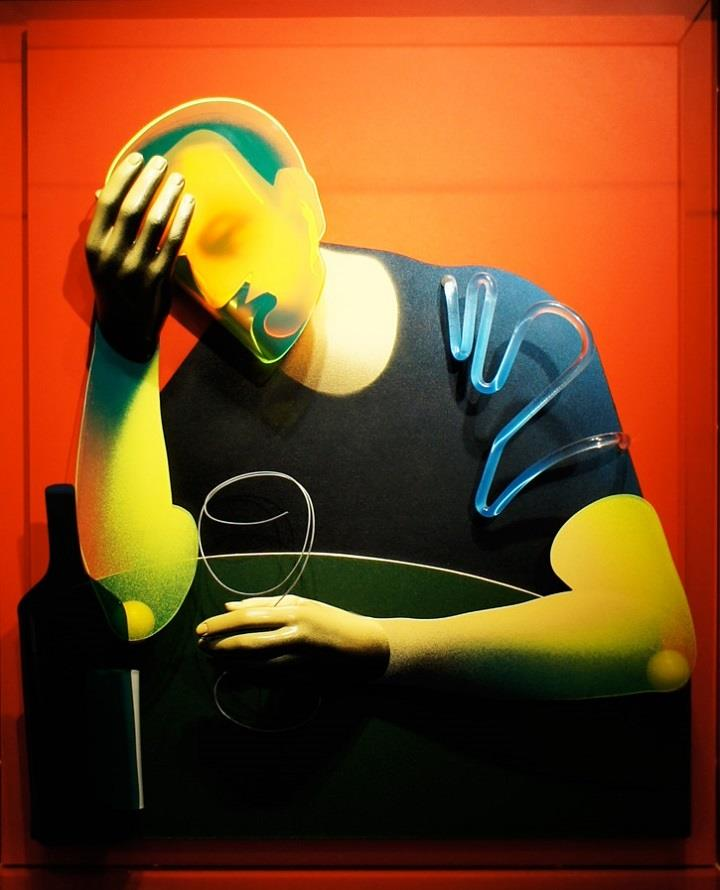 Adam Neate - the drinker