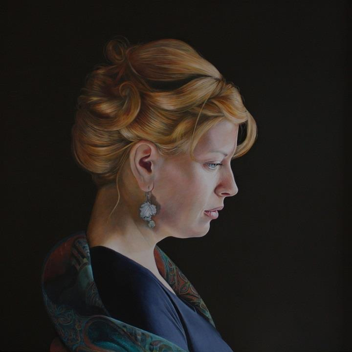 Alan Coulson - lifelike painting