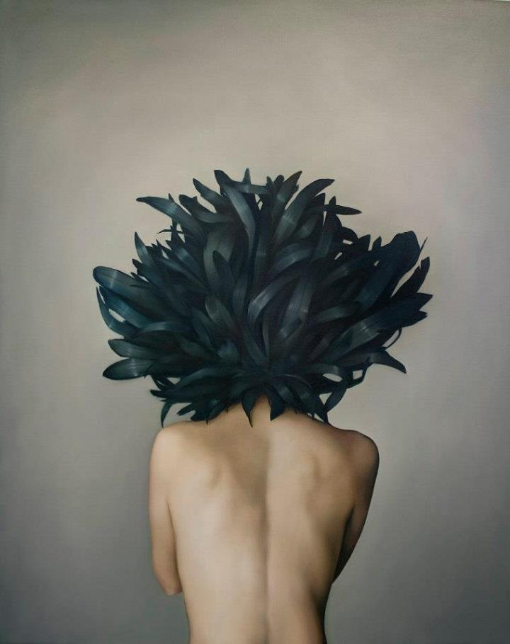 Amy Judd - black wings