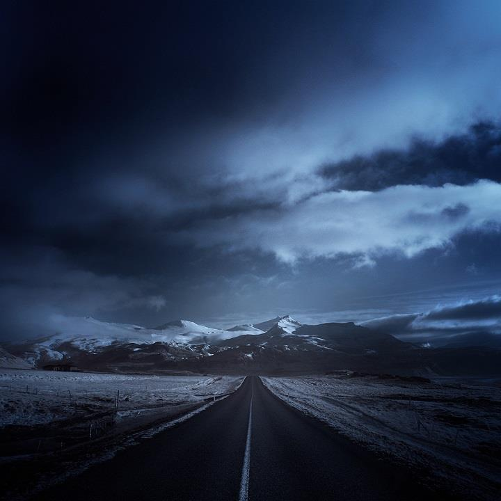 Andy Lee - road blue