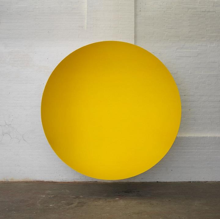 Anish Kapoor - yellow circle