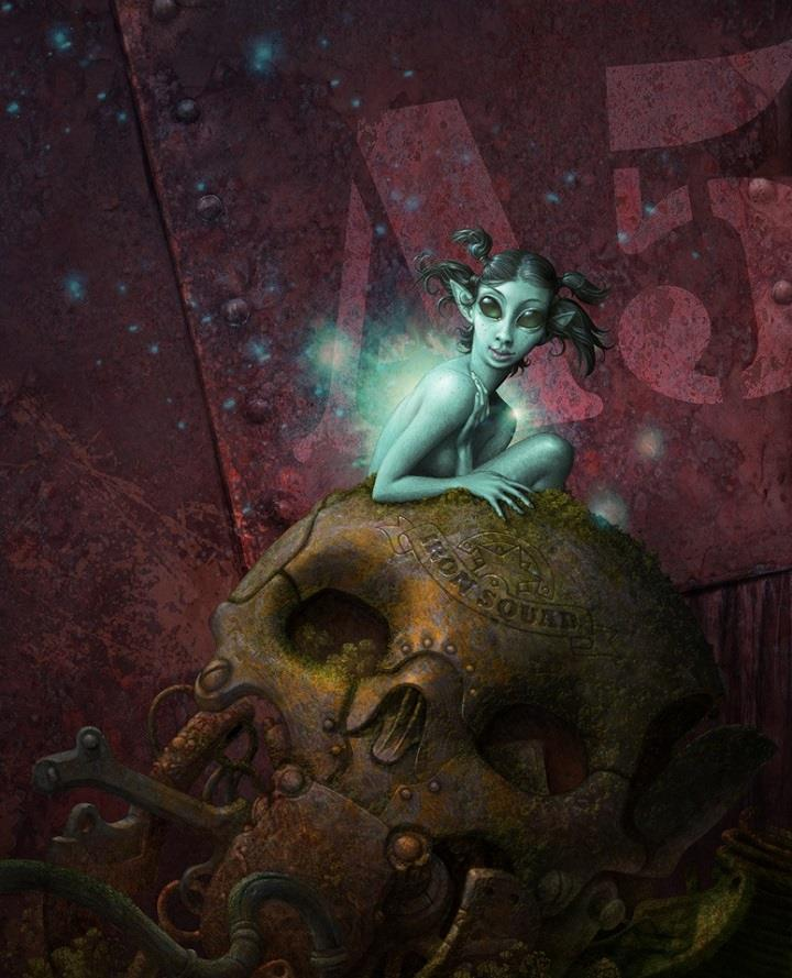 Antonio Caparo - fairy of the rust