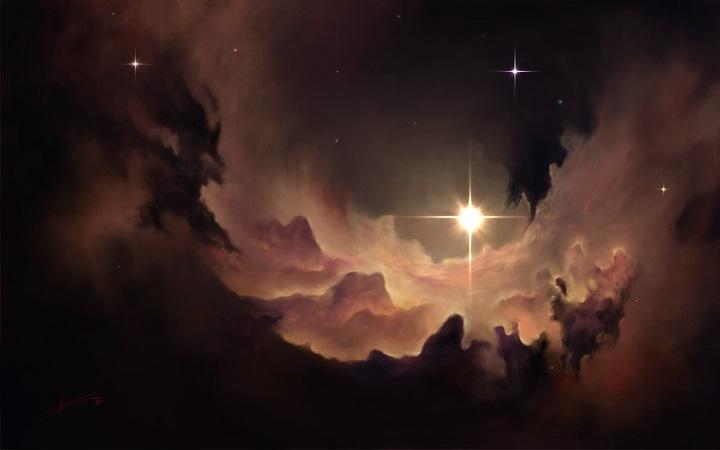 Artur Zima - nebula