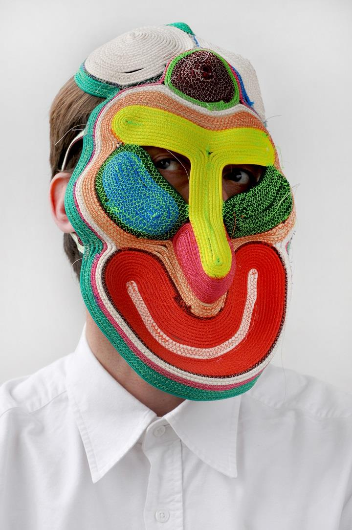 Bertjan Pot - rope mask art