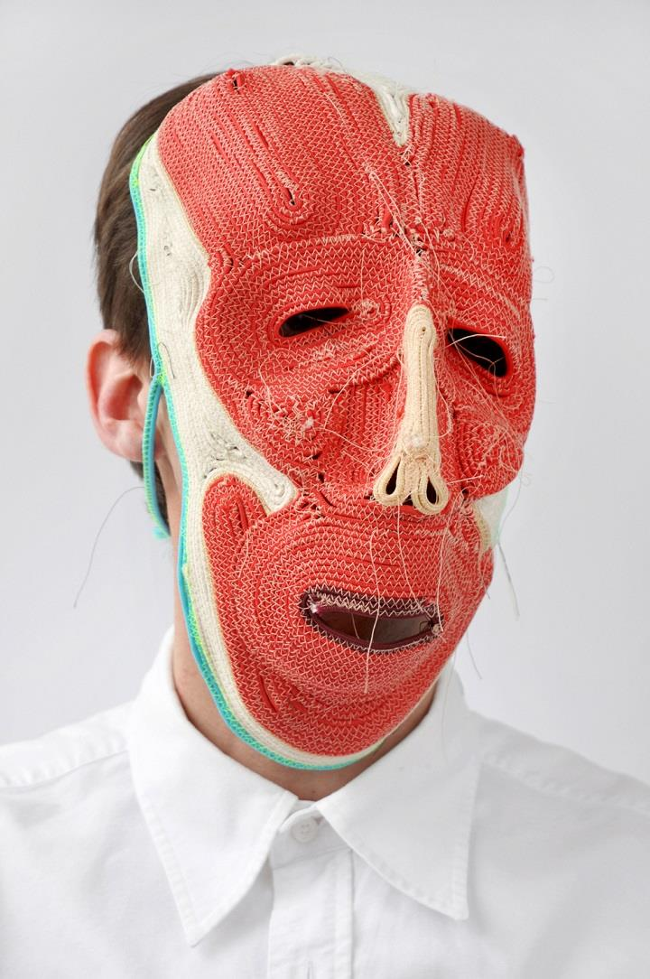 Bertjan Pot - rope mask