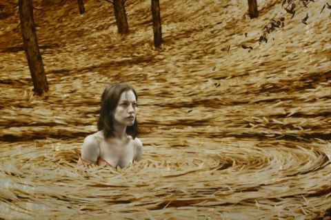 Brad Kunkle - Leaf Paintings 1