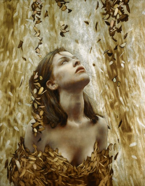 Brad Kunkle - Leaf Paintings 3