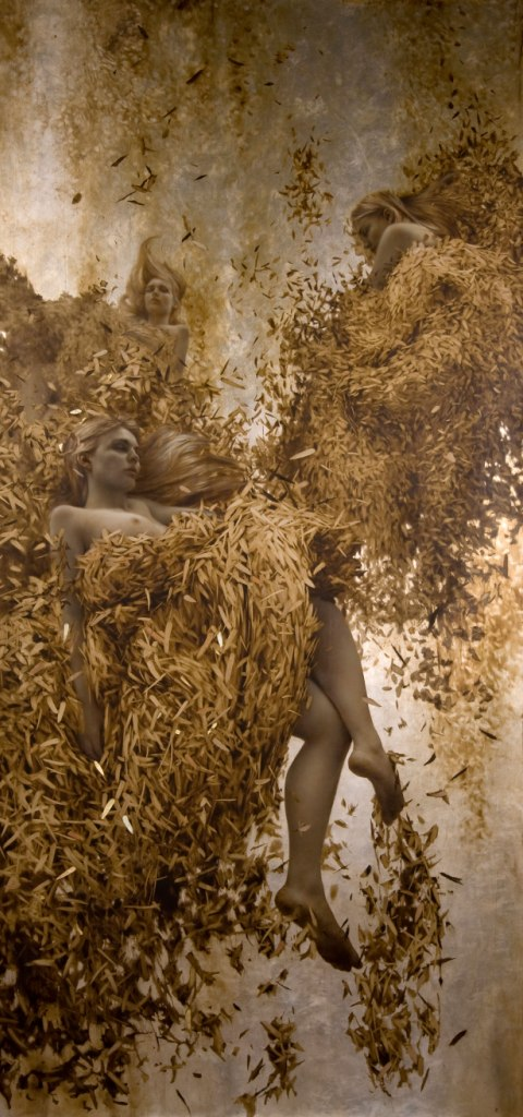 Brad Kunkle - Leaf Paintings 5