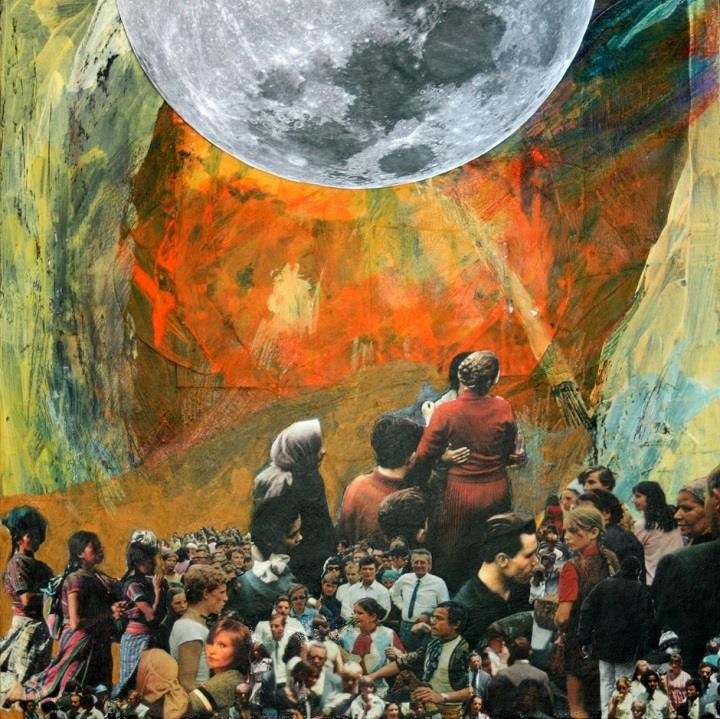 Brandi Strickland - people and moon