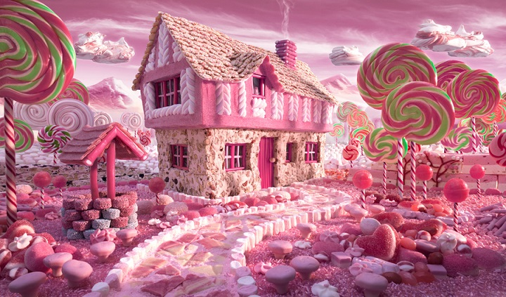 Carl Warner - Candy Cottage