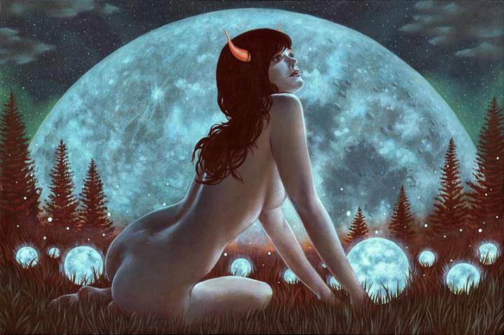 Casey Weldon - a moon mother