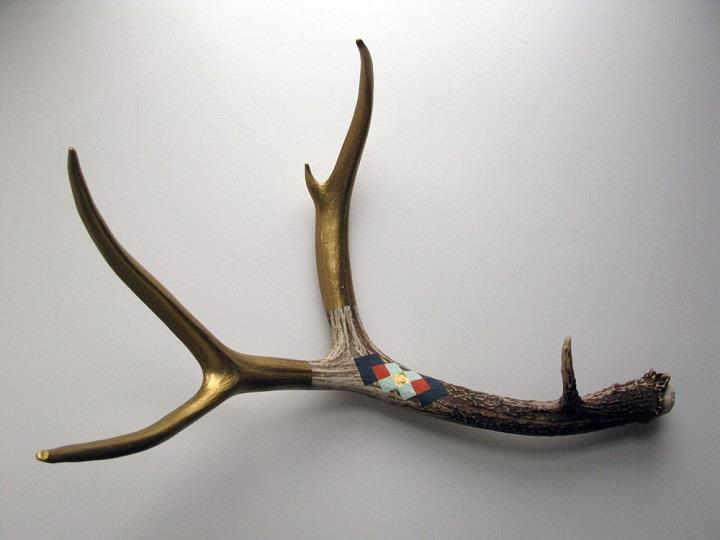 Cassandra Smith - golden tribal antler