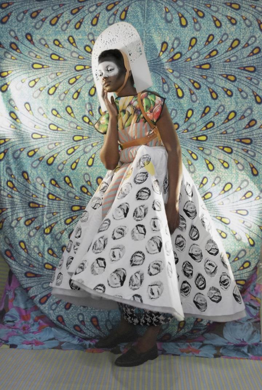 Christa van der Meer - fashion shot