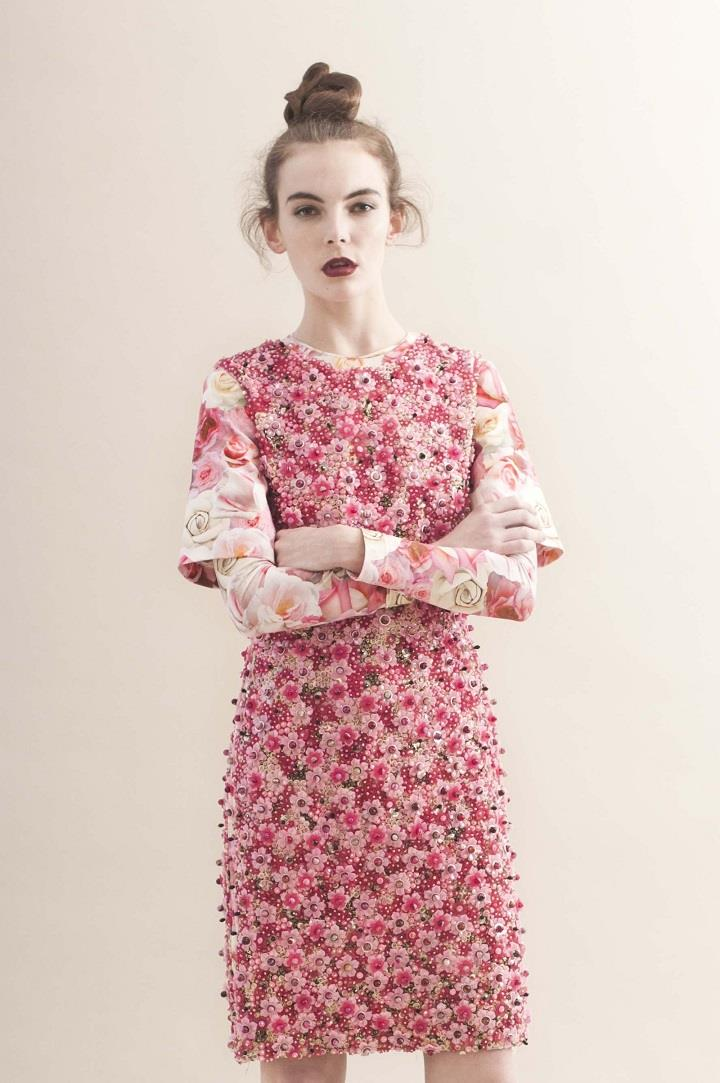 Claire Huish - floral dress