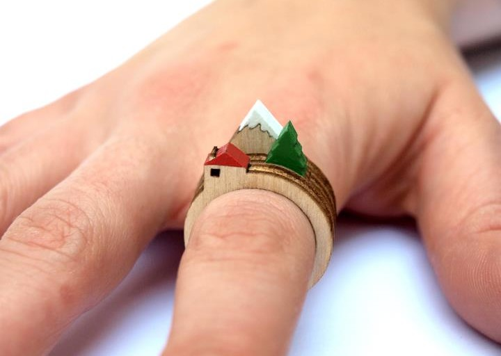 Landscape Rings by Clive Roddy