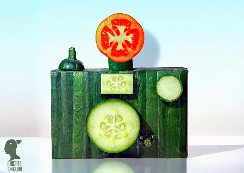 Dan Cretu - Cucumber Camera