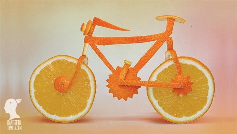 Dan Cretu - Orange Bicycle