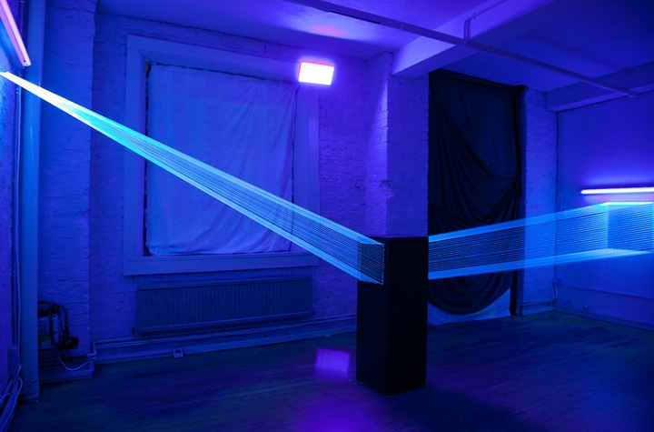 David Ogle - a blue installation