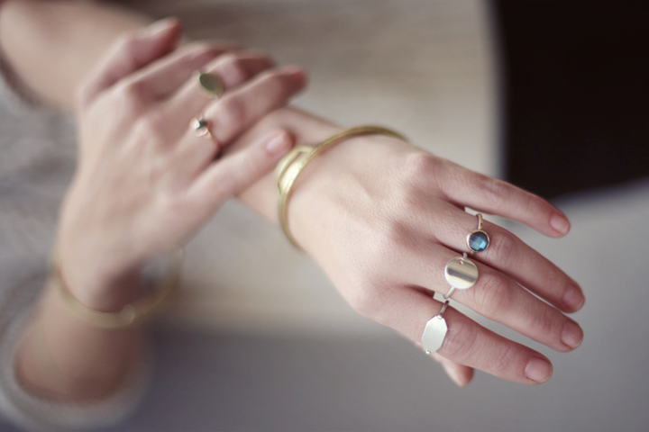 Dear Rae Jewellery - hands