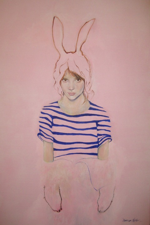 Denise Nestor  - rabbit girl
