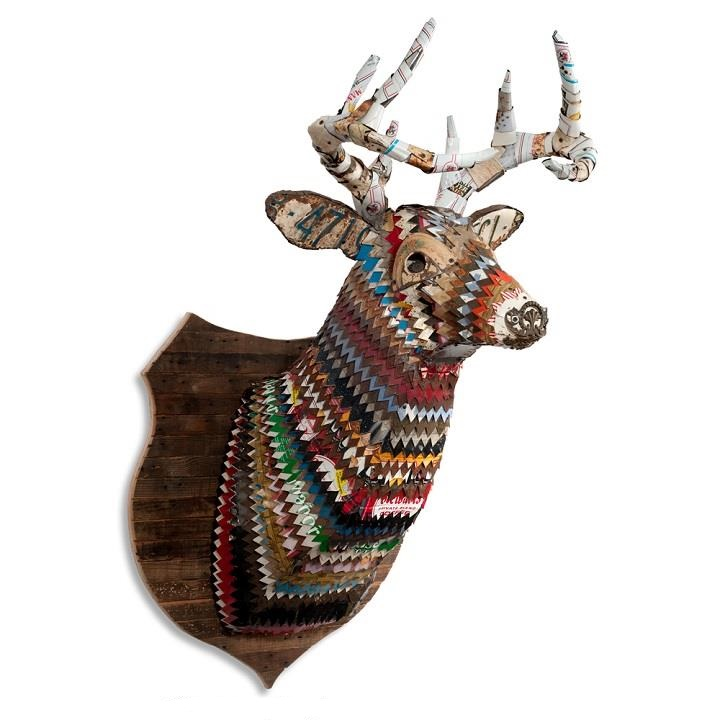 Dolan Geiman - deer sculpture