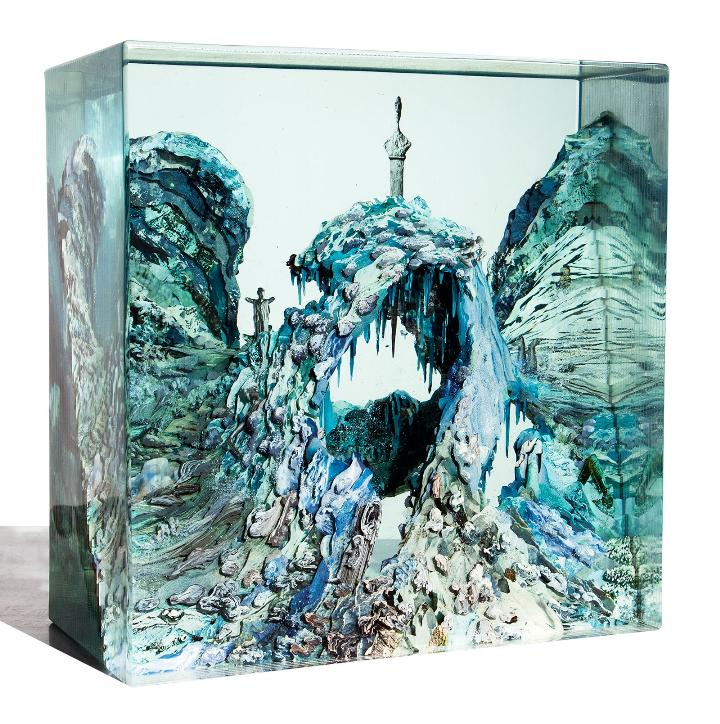 Dustin Yellin etruscan-cave_no1