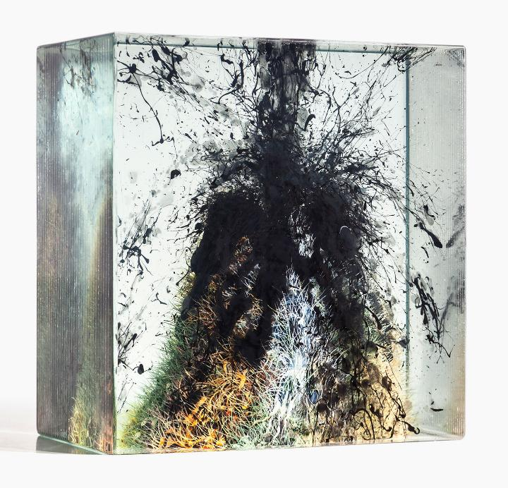 Dustin Yellin untitled-cave_58