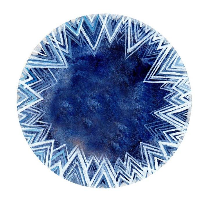 Elisa Mahan - blue ice art
