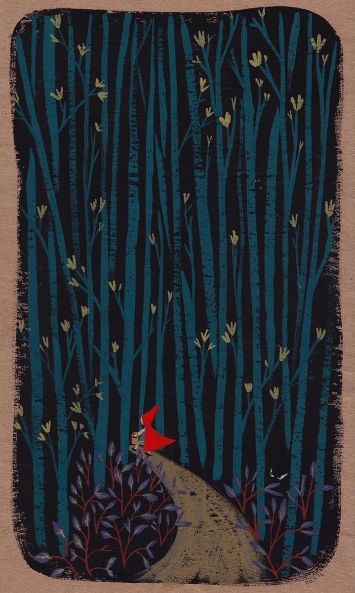Ellen Surrey - red riding hood