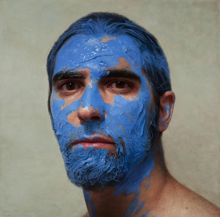 Eloy Morales - blue face