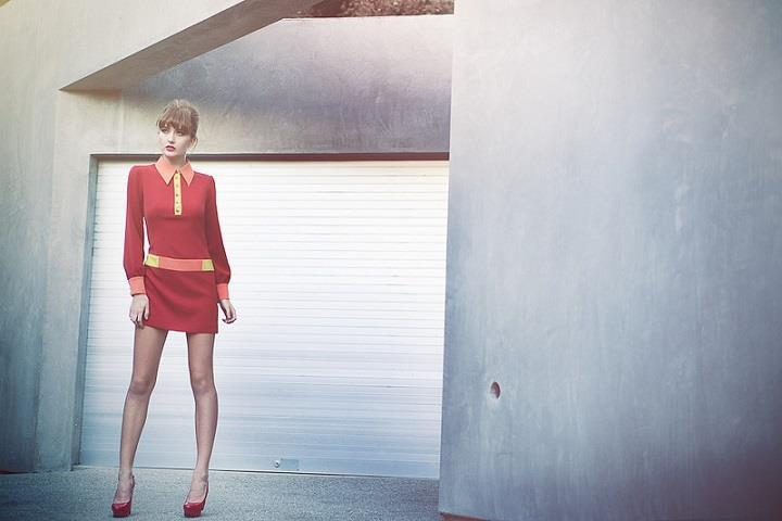 Emily Soto - red dress
