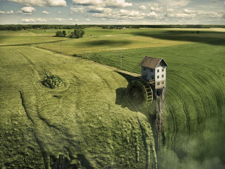Erik Johansson - green grass