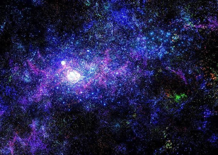 Fabian Oefner - nebula sky