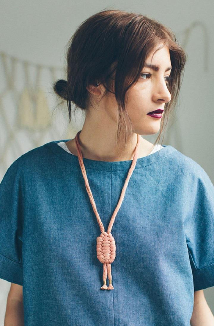 Gamma Folk - knots necklace