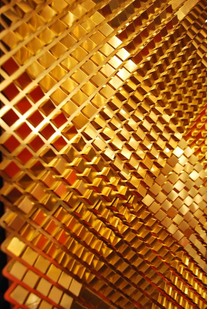 Giles Miller Studio - gold surface