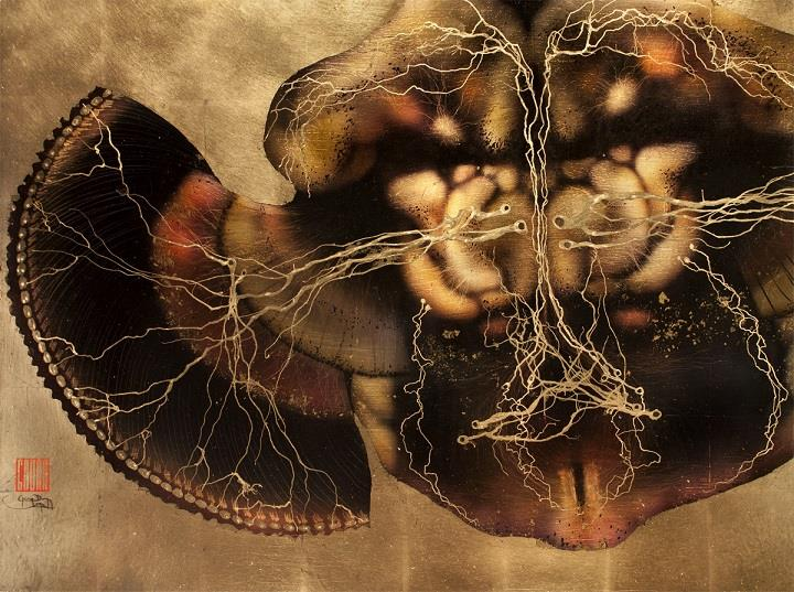 Greg Dunn - Drosophila Brain