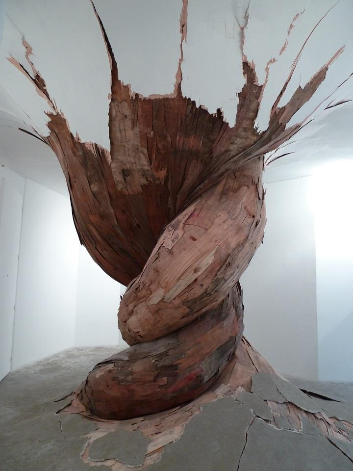 Henrique Oliveira - tree root