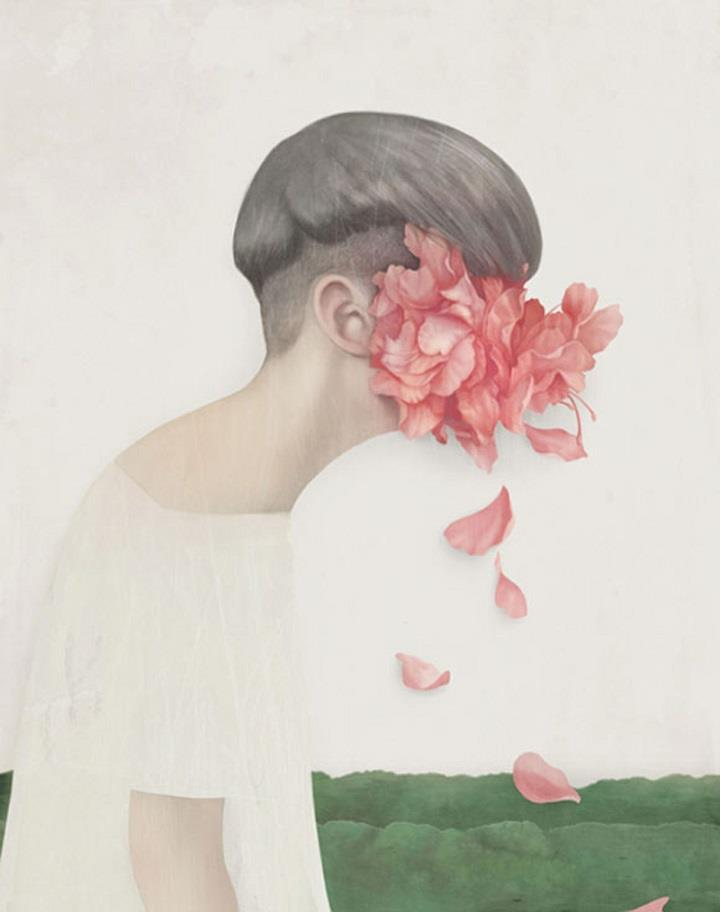 Hsiao Ron Cheng - flower tears