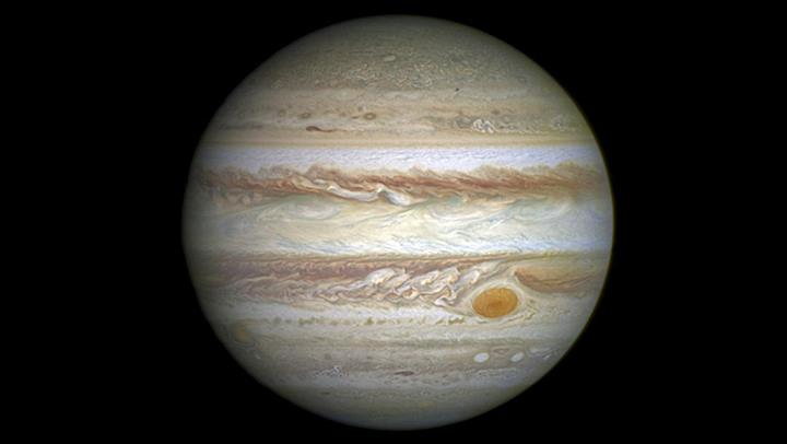 Hubble Jupiter's Great Red Spot