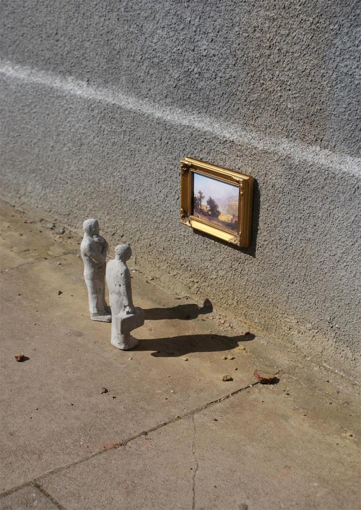Isaac Cordal - remembrances
