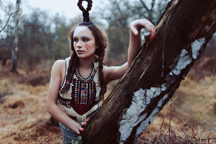 Jessica Klingelfuss - tribal fashion
