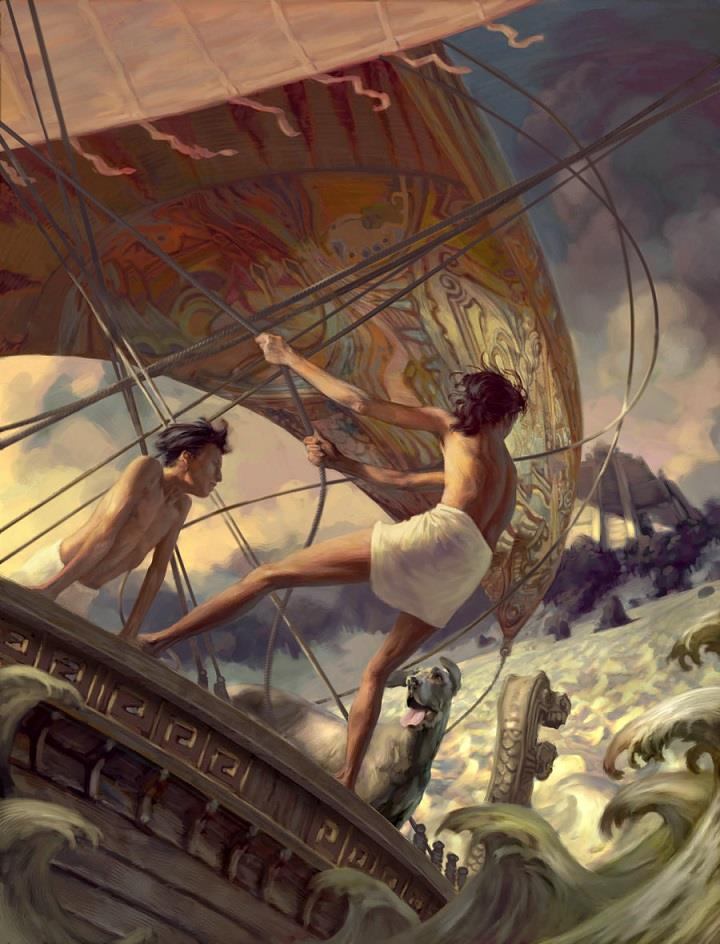 Jon Foster - sea of the dead