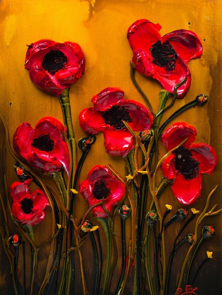 Justin Gaffrey - poppies