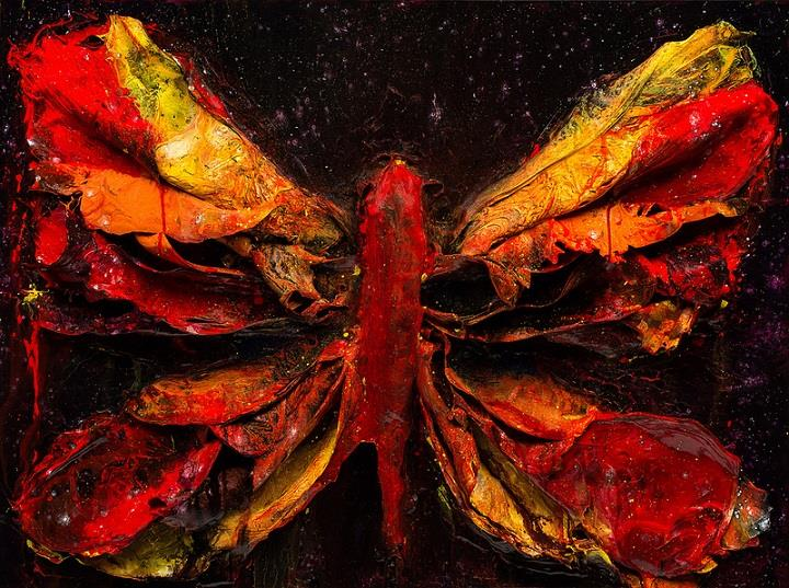 Justin Gaffrey - red butterfly