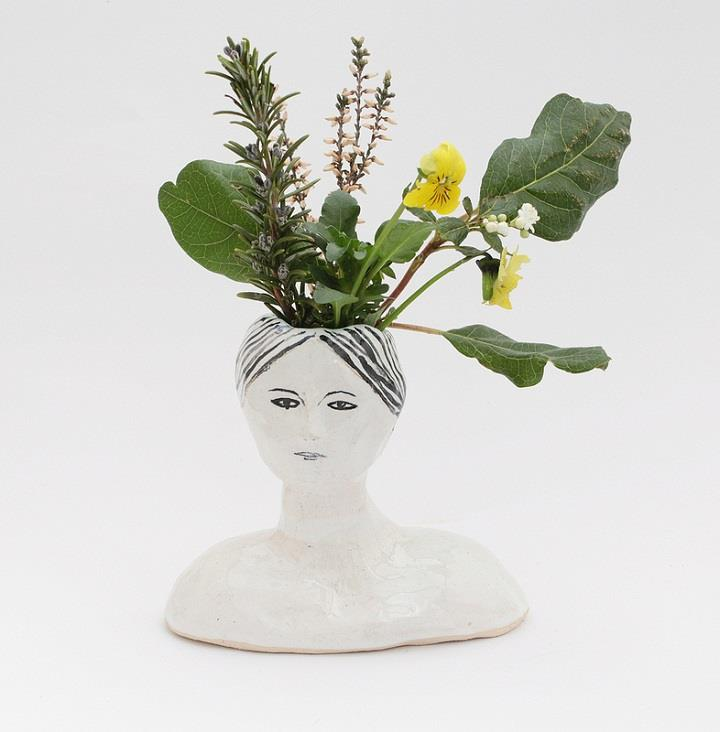Kaye Blegvad - ceramic head