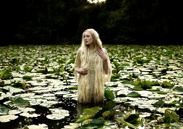 Kirsty Mitchell lady of the lake