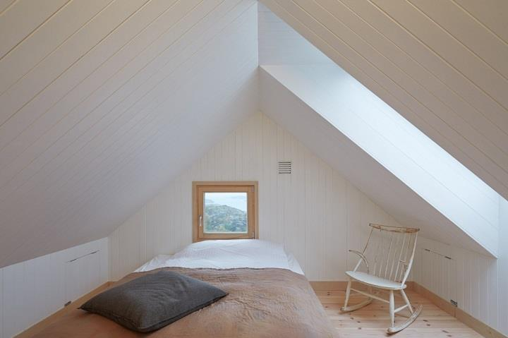 Kolman Boye Architects - Vega Cottage Sleeping room