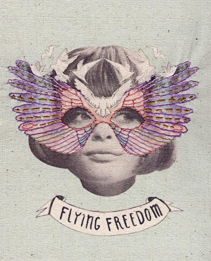 Laura McKellar - flying freedom